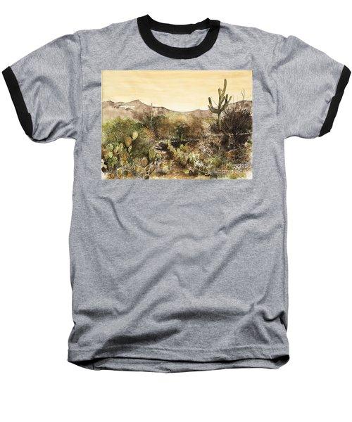 Desert Walk Baseball T-Shirt