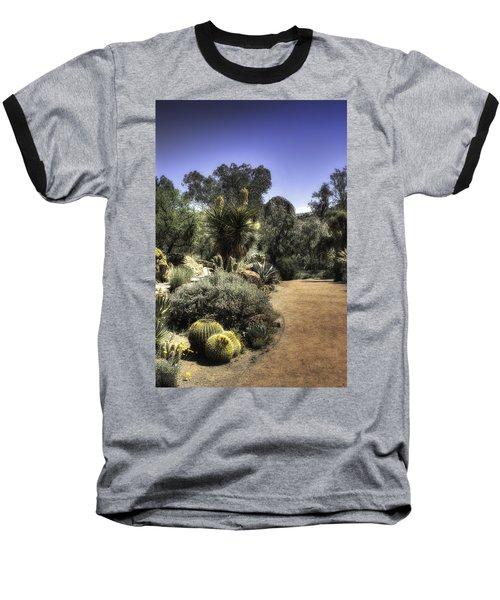Baseball T-Shirt featuring the photograph Desert Walkway by Lynn Geoffroy