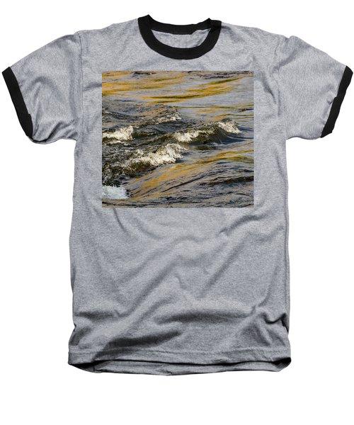 Desert Waves Baseball T-Shirt