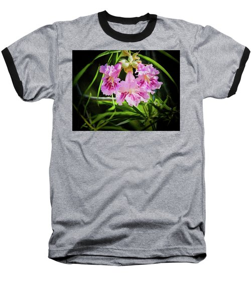 Baseball T-Shirt featuring the photograph Desert Willow by Penny Lisowski