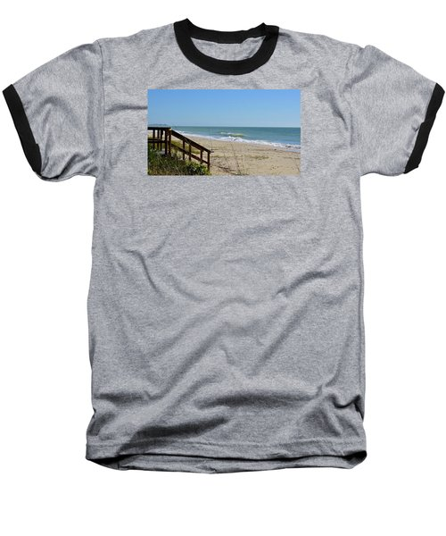 Deserted Baseball T-Shirt by Carol Bradley