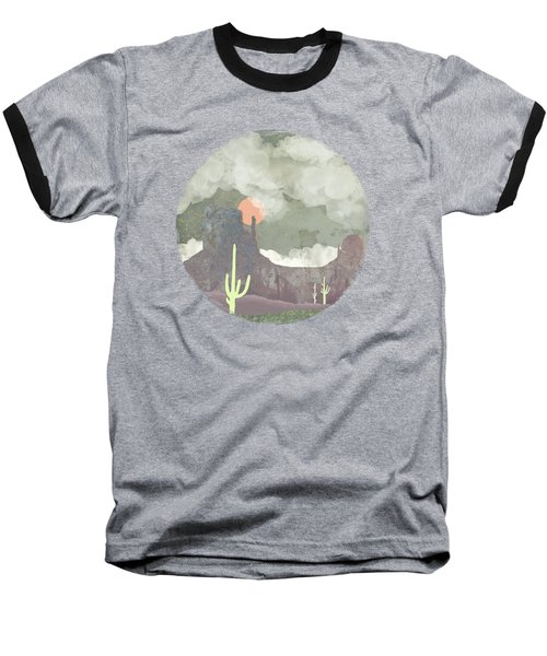 Desertscape Baseball T-Shirt