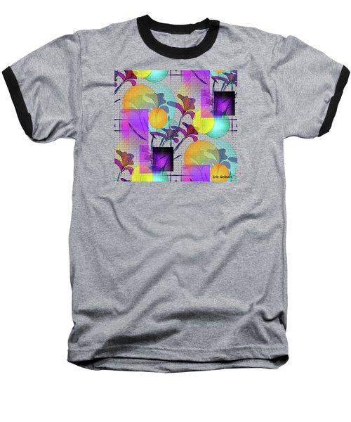 Design #3 Baseball T-Shirt by Iris Gelbart
