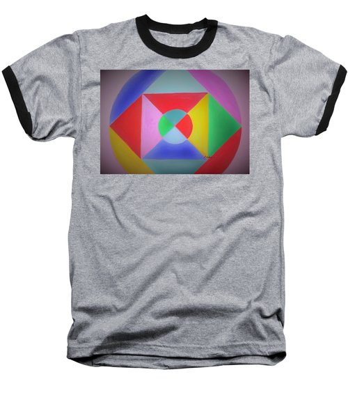 Design Number One Baseball T-Shirt