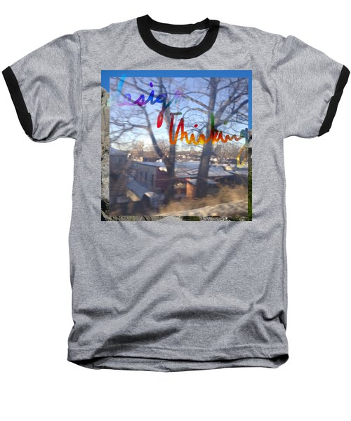 Design Thinking  Baseball T-Shirt