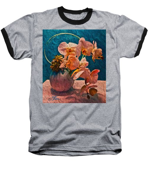 Designer Floral Arrangement Baseball T-Shirt