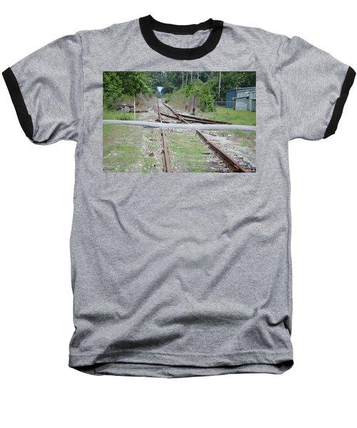 Desolate Rails Baseball T-Shirt