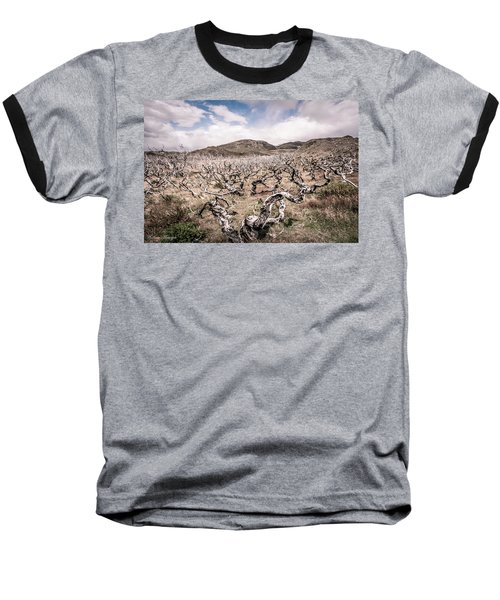 Baseball T-Shirt featuring the photograph Desolation by Andrew Matwijec