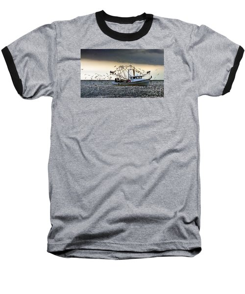 Desperado  Baseball T-Shirt by Christy Ricafrente