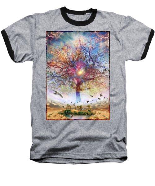 Dessert Of Forgotten Tree Baseball T-Shirt