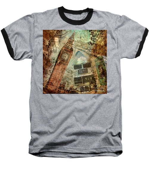 Destination London Baseball T-Shirt