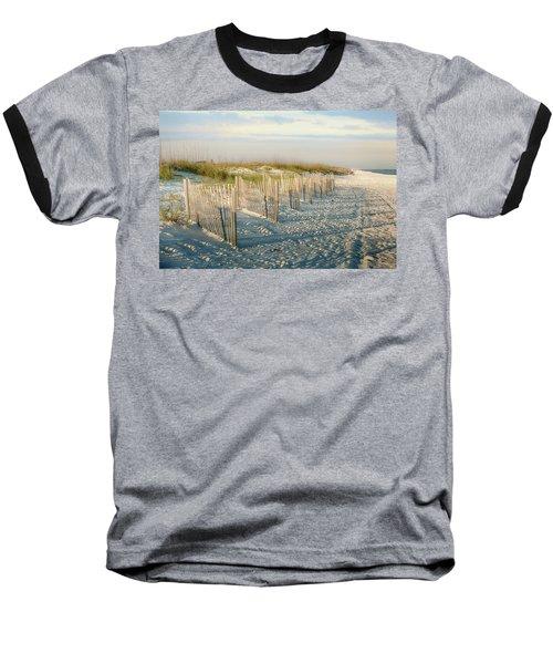 Destination Serenity Baseball T-Shirt by Sennie Pierson