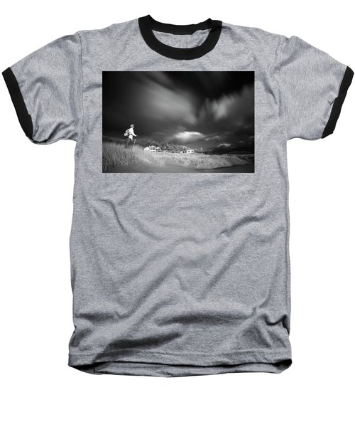 Baseball T-Shirt featuring the photograph Destination by William Lee