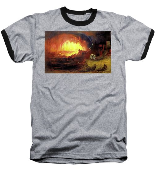 Destruction Of Sodom And Gomorah Baseball T-Shirt