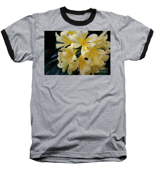 Details In Yellow And White Baseball T-Shirt by John S