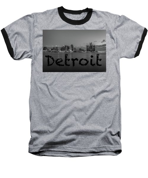 Detroit City  Baseball T-Shirt