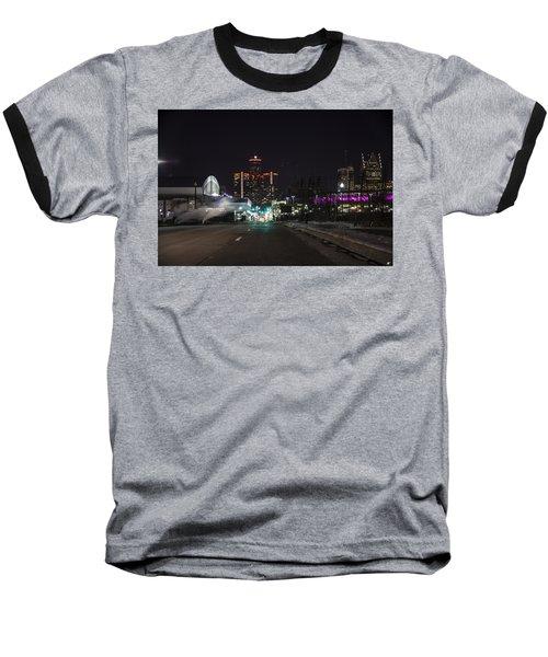 Baseball T-Shirt featuring the photograph Detroit Michigan by Nicholas Grunas