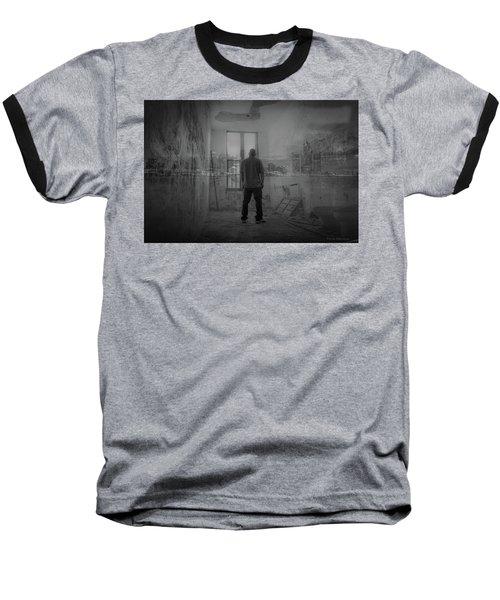 Detroit Urbex  Baseball T-Shirt