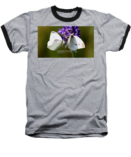 Deuteronomy 31 6 Baseball T-Shirt