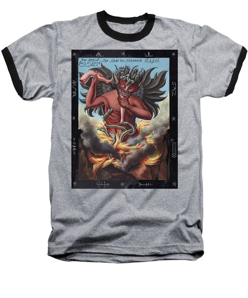 Devil, 1057 Baseball T-Shirt