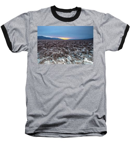 Baseball T-Shirt featuring the photograph Devil's Golf Course  by Catherine Lau