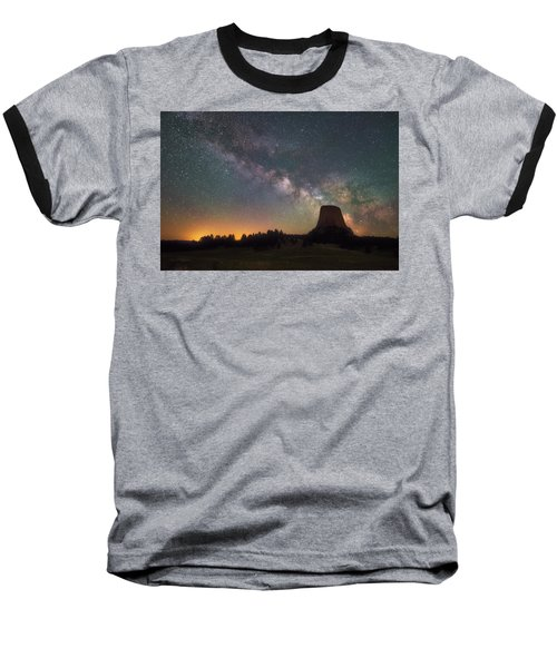 Baseball T-Shirt featuring the photograph Devils Night Watch by Darren White