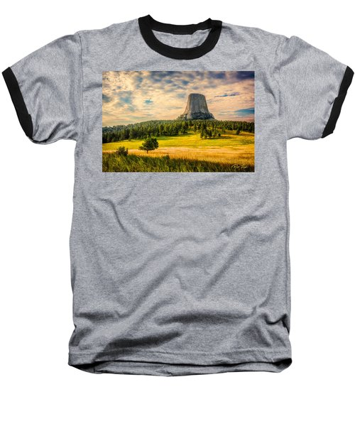 Devil's Tower - The Other Side Baseball T-Shirt