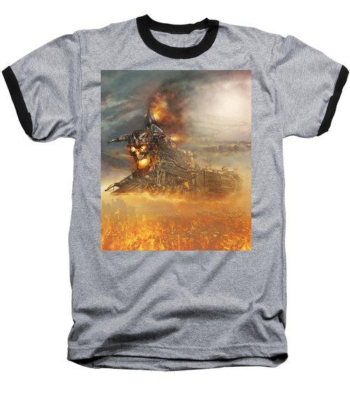 Devils Train 2 Baseball T-Shirt