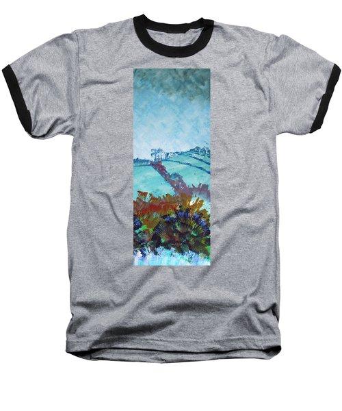 Devon Landscape Painting - Hills Near Exeter Baseball T-Shirt