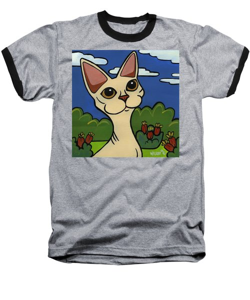 Devon Rex Baseball T-Shirt