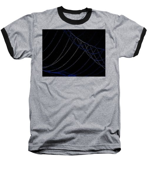 Baseball T-Shirt featuring the photograph Dew Drops by John Glass