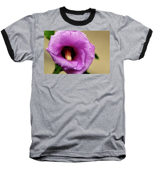 Dew On The Flower Baseball T-Shirt