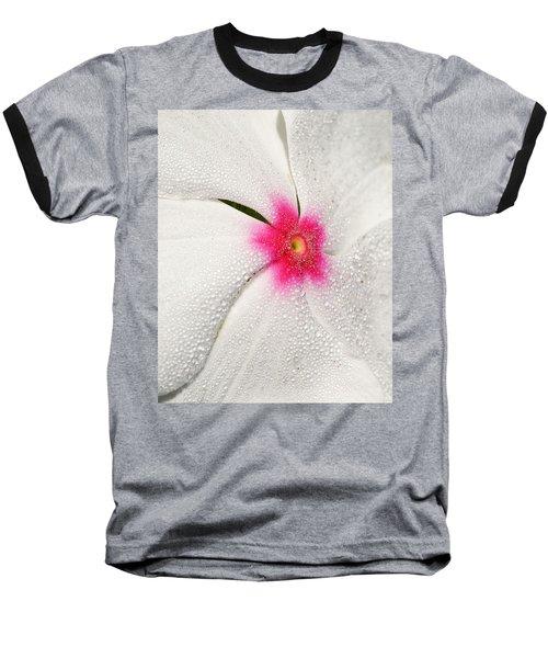 Dew-sprinkled Periwinkle Baseball T-Shirt