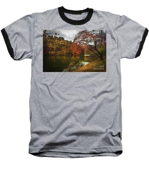 Dewey Lake In Autumn Baseball T-Shirt