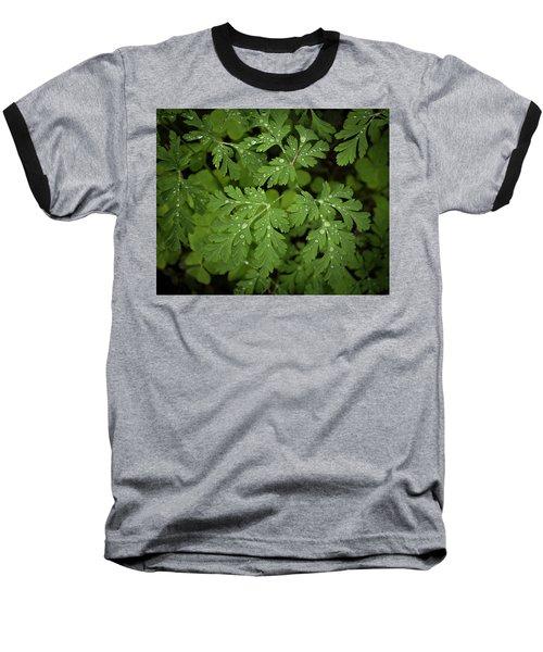 Dewey Leaves Baseball T-Shirt