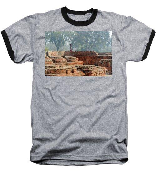 Dharma Chakra Jinavihara 02 Baseball T-Shirt