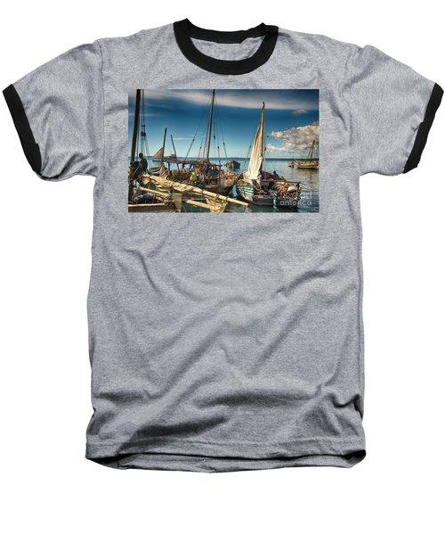 Dhow Sailing Boat Baseball T-Shirt
