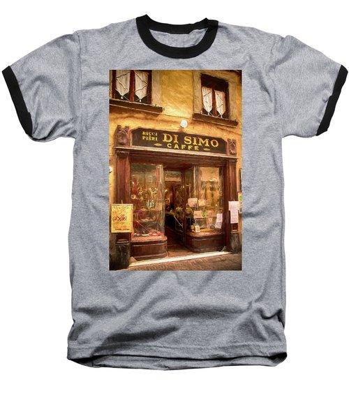 Di Simo Caffe Baseball T-Shirt