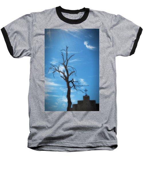 Dia De Los Muertos Baseball T-Shirt by Lynn Geoffroy