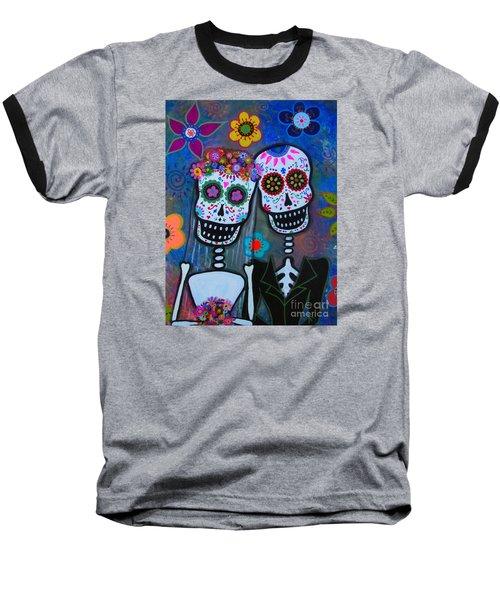 Dia De Los Muertos Matrimonio Baseball T-Shirt
