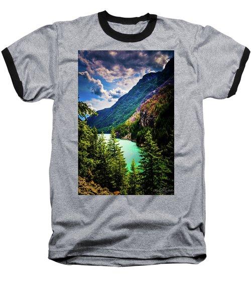 Diablo Lake Baseball T-Shirt