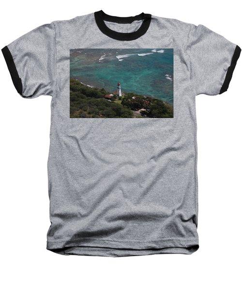 Diamond Head Lighthouse I Baseball T-Shirt