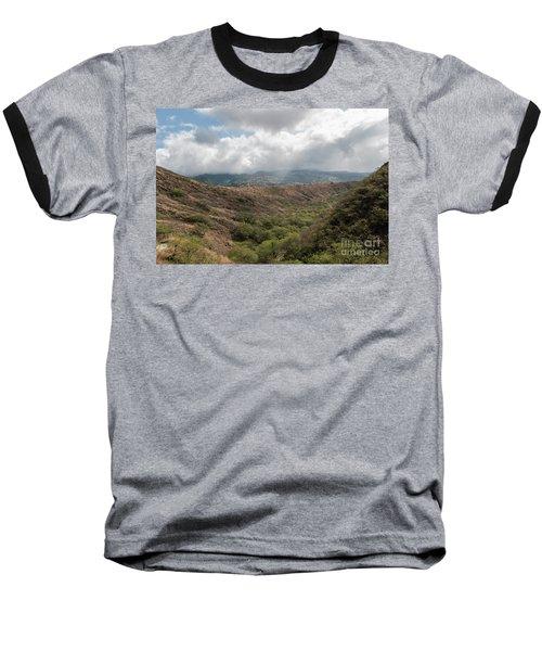 Diamond Head View Baseball T-Shirt