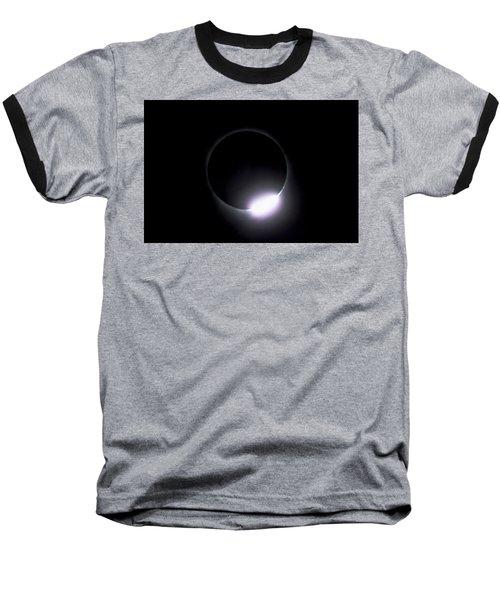 Diamond Ring During Solar Eclipse Baseball T-Shirt