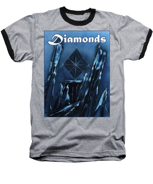 Diamonds Suit Baseball T-Shirt