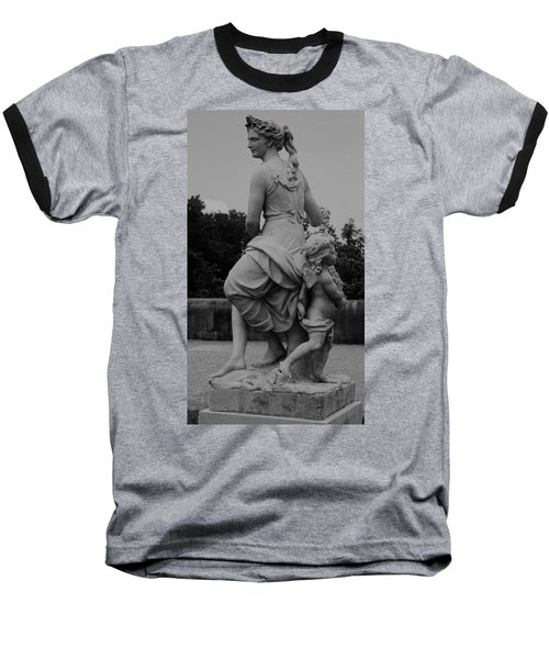 Baseball T-Shirt featuring the painting Diana by Eric  Schiabor