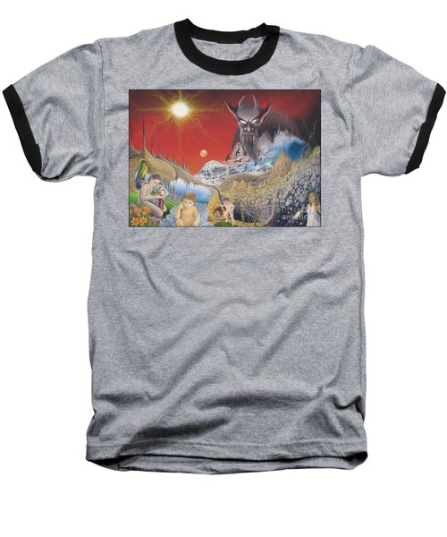 Diary Of Second Recognition Baseball T-Shirt
