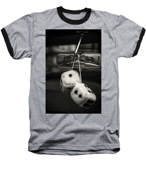 Dice In The Window Baseball T-Shirt