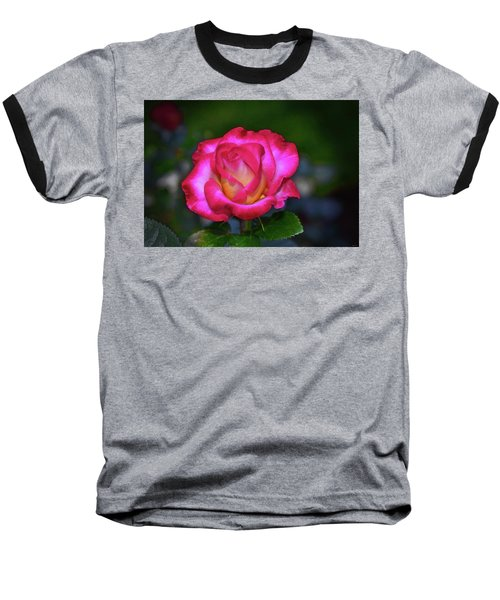 Dick Clark Rose 002 Baseball T-Shirt by George Bostian