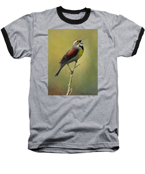 Dickcissel Summer Song Baseball T-Shirt